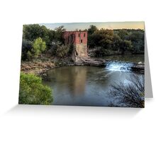 The Eliasville Mill Greeting Card