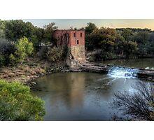 The Eliasville Mill Photographic Print