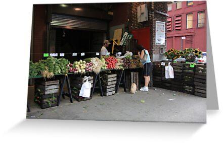 New York City Market by Frank Romeo