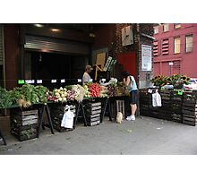 New York City Market Photographic Print