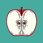 Anxiety Apple by Nicholas Ely