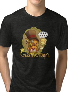 Gentlemon: Rai say! Tri-blend T-Shirt