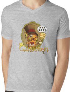 Gentlemon: Rai say! Mens V-Neck T-Shirt