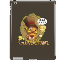 Gentlemon: Rai say! iPad Case/Skin
