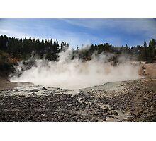 Yellowstone National Park - Mud Pots Photographic Print