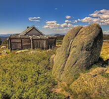 Snowy Mountain High - Craigs Hut, Mount Sterling - The HDR Experience by Philip Johnson