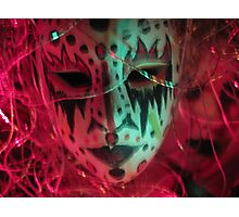 When Masks Come Off Photographic Print