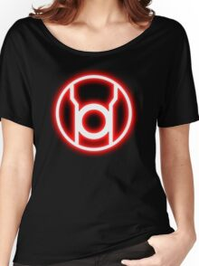 RED LANTERN - RAGE! Women's Relaxed Fit T-Shirt