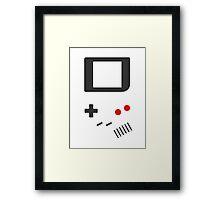 __gameboy vector Framed Print