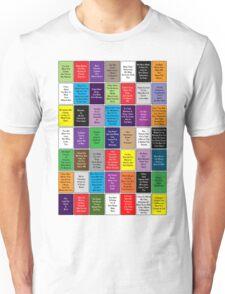 Fall Out Boy Lyric Montage Unisex T-Shirt