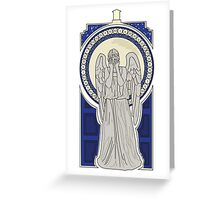 Don't Blink Greeting Card