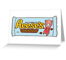 ACNL Reese's Peanut Butter Cups  Greeting Card