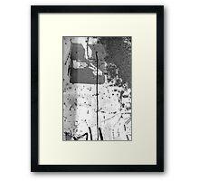 street walk #31-    choices Framed Print