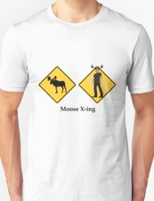 Moose Crossing T-Shirt