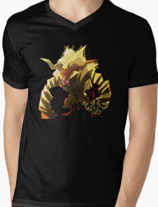 The Fur Beast Mens V-Neck T-Shirt