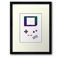 __gameboy psychedelic Framed Print