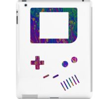 __gameboy psychedelic iPad Case/Skin