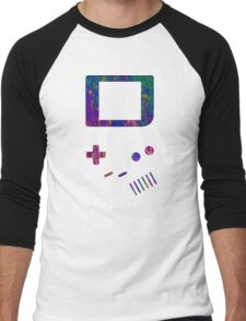 __gameboy psychedelic Men's Baseball ¾ T-Shirt