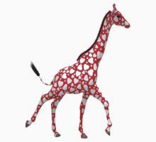 Romantic Giraffe Kids Tee