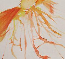 Watercolour Betta splenden by pokegirl93
