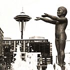 Seattle Fountain by Danielle Cardenas