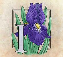 I is for Iris by Stephanie Smith