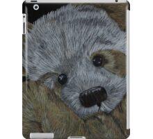 Snuggle with my little bear iPad Case/Skin