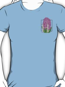 H is for Hyacinth - patch T-Shirt