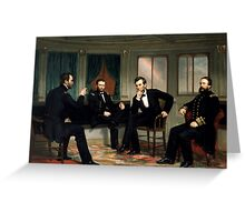 The Peacemakers -- Civil War Union Leaders Greeting Card
