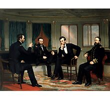 The Peacemakers -- Civil War Union Leaders Photographic Print