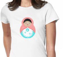 Sweet Bubble Babushka Womens Fitted T-Shirt