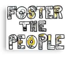 FOSTER THE PEOPLE PUMPED U KICKS Canvas Print