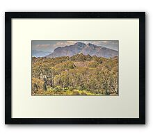 High Country Serenade - Mount Stirling, Victoria Australia - The HDR Experience Framed Print