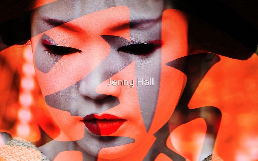 Geisha moderne by Jenny Hall
