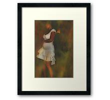 Dance......As If No One Was Watching! Framed Print