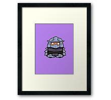 He Shreds! Framed Print