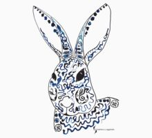 Rabbit © feathers & eggshells - wild new things are born One Piece - Short Sleeve