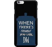 Call DW iPhone Case/Skin