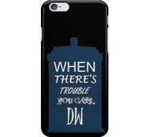 Call DW iPhone Case/Skin
