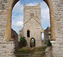 Ruined Church in Somerset - 2 by kalaryder