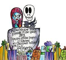 Jack and Sally by sammybaxterart