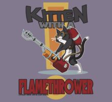 Kitten with a Flamethrower by Orbitas
