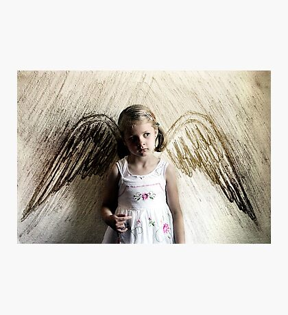 Paper Angel Photographic Print