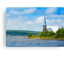 St Marks in Middle LaHave, Nova Scotia Canvas Print