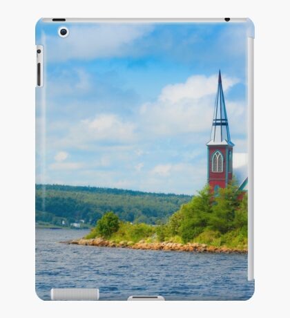 St Marks in Middle LaHave, Nova Scotia iPad Case/Skin