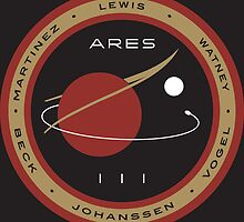 Ares III Mission patch by Downwind