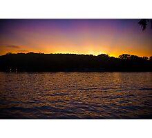 Austin Lake at Emma Long Photographic Print