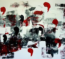 Abstract Painting 2 by Angela Gannicott