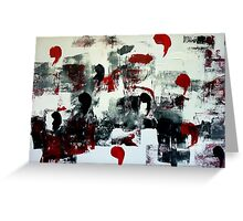 Abstract Painting 2 Greeting Card