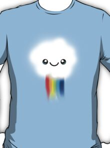 Happy Kawaii Rainbow Cloud T-Shirt